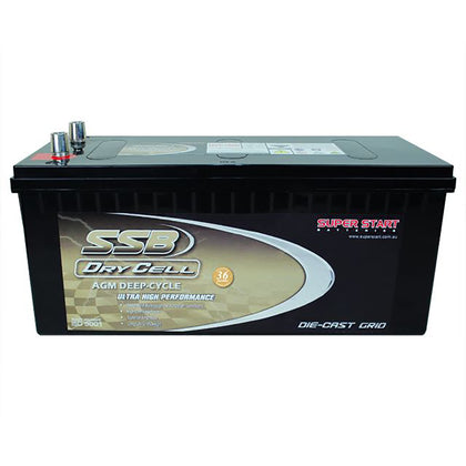 SSB 12V 180Ah Dry Cell Deep Cycle Battery