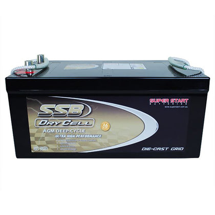 SSB 12V 270Ah Dry Cell Deep Cycle Battery