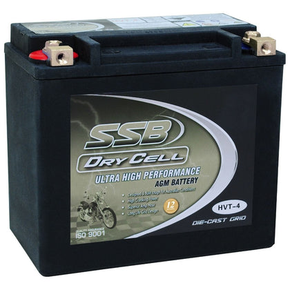 HVT-4 Ultra High Performance AGM Motorcycle Battery