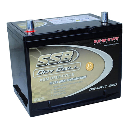 SSB 12V 60Ah Dry Cell Deep Cycle Battery - Battery Specialists