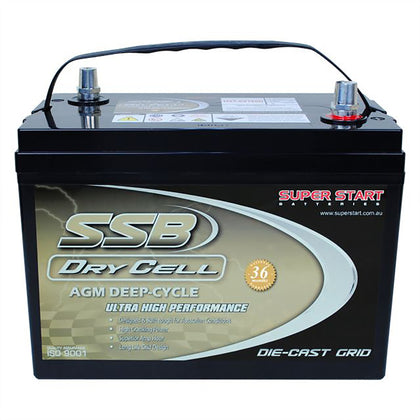 SSB 6V 180Ah Dry Cell Deep Cycle Battery