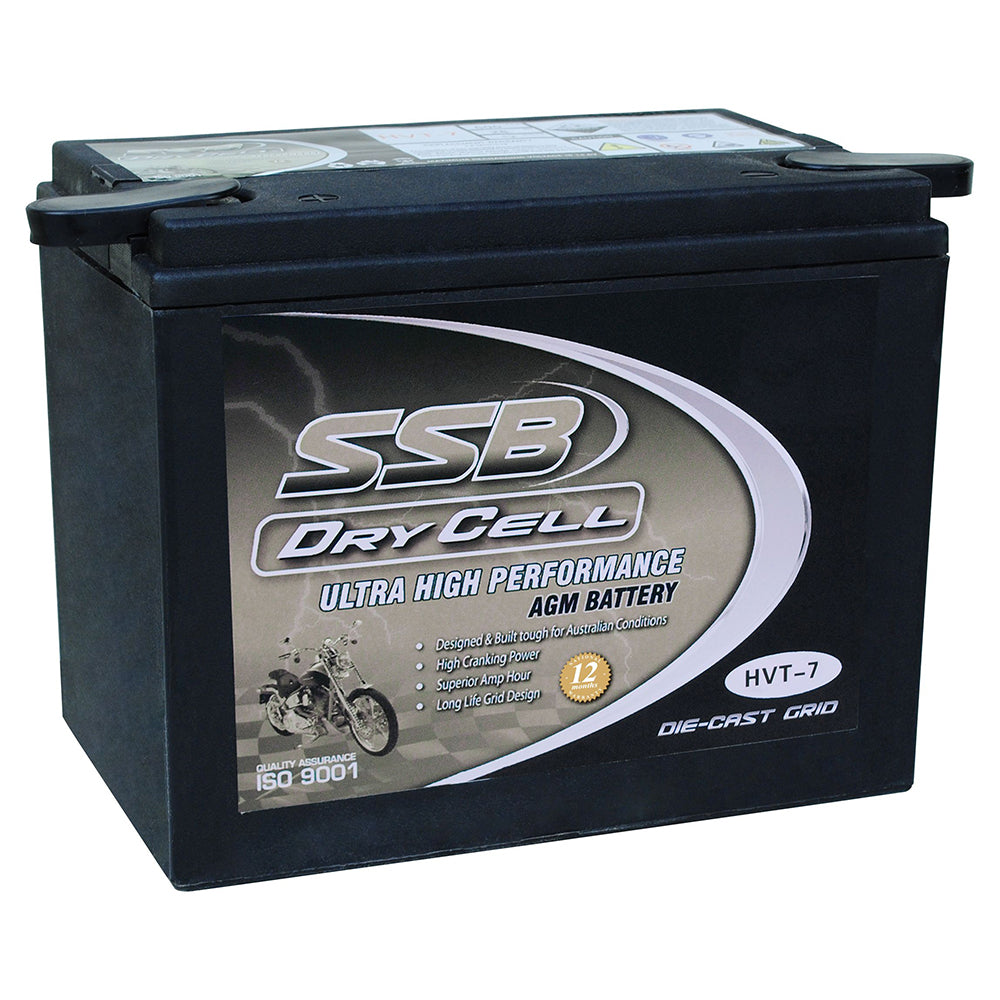 HVT-7 Ultra High Performance AGM Motorcycle Battery