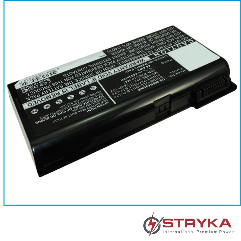 MSI A6000; CX700 11.1V 6600mAh Li-ion