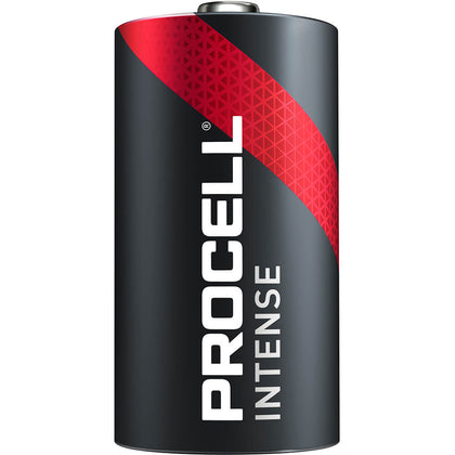 Procell INTENSE Power D Battery 1.5V Alkaline for HIGH DRAIN