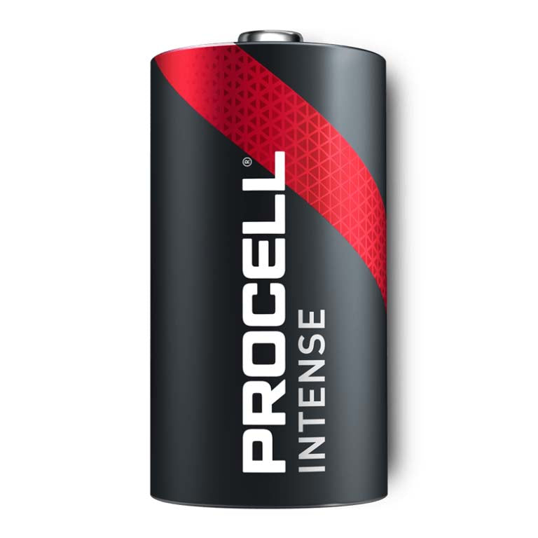 Procell INTENSE Power C Size Battery PX1400 1.5V Alkaline for HIGH DRAIN Bulk Box of 12