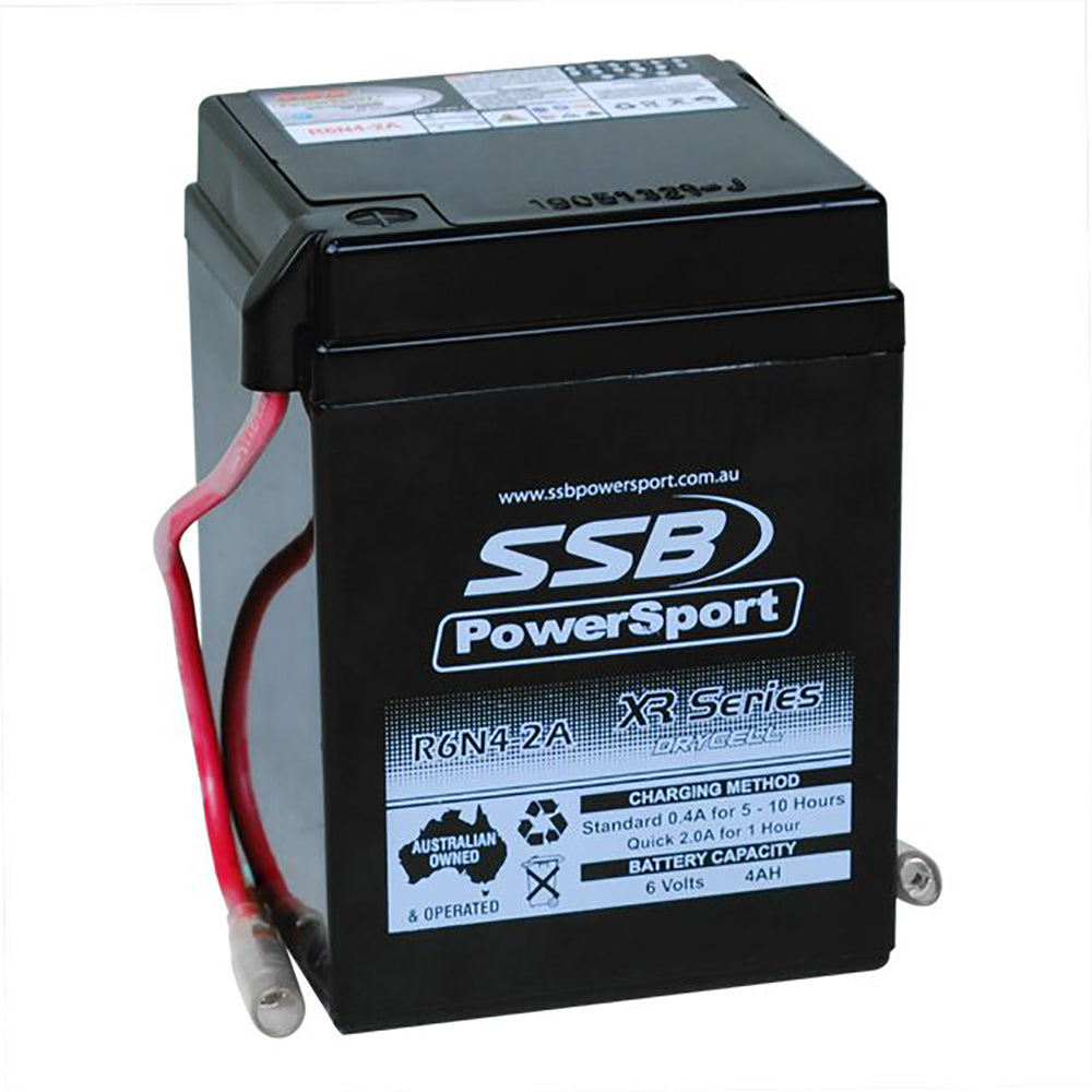 R6N4-2A High Peformance AGM Motorcycle Battery