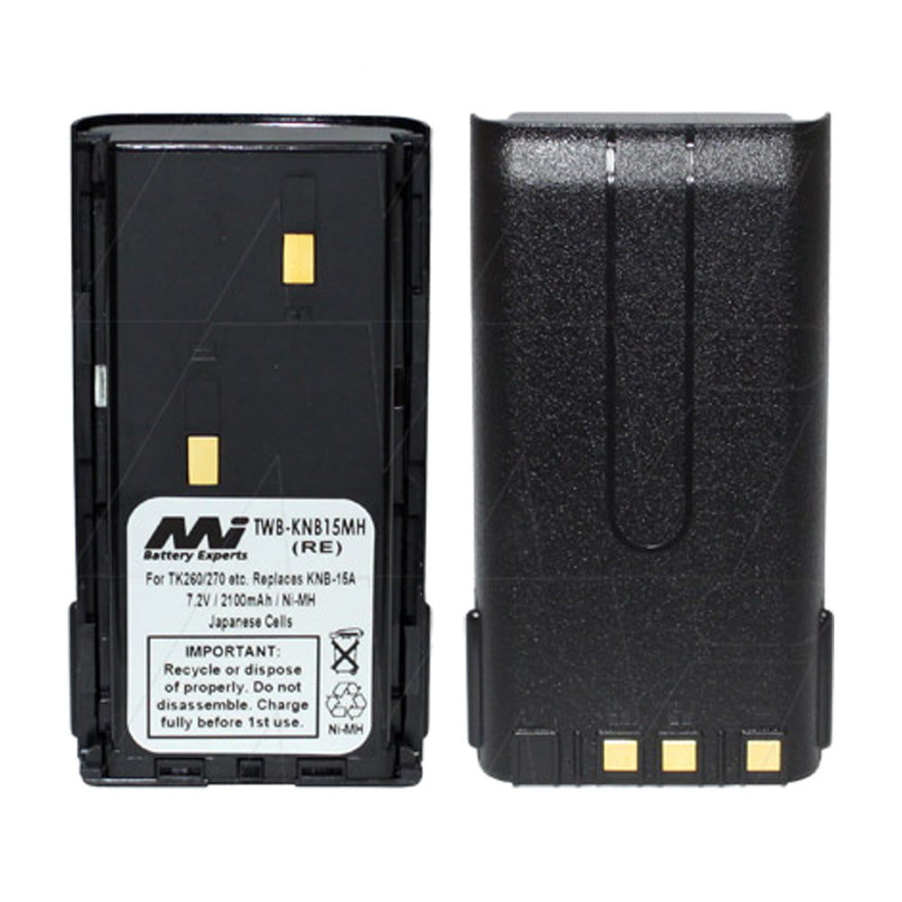 7.2V 2100mAh NiMH Two Way Radio battery suit. for Kenwood