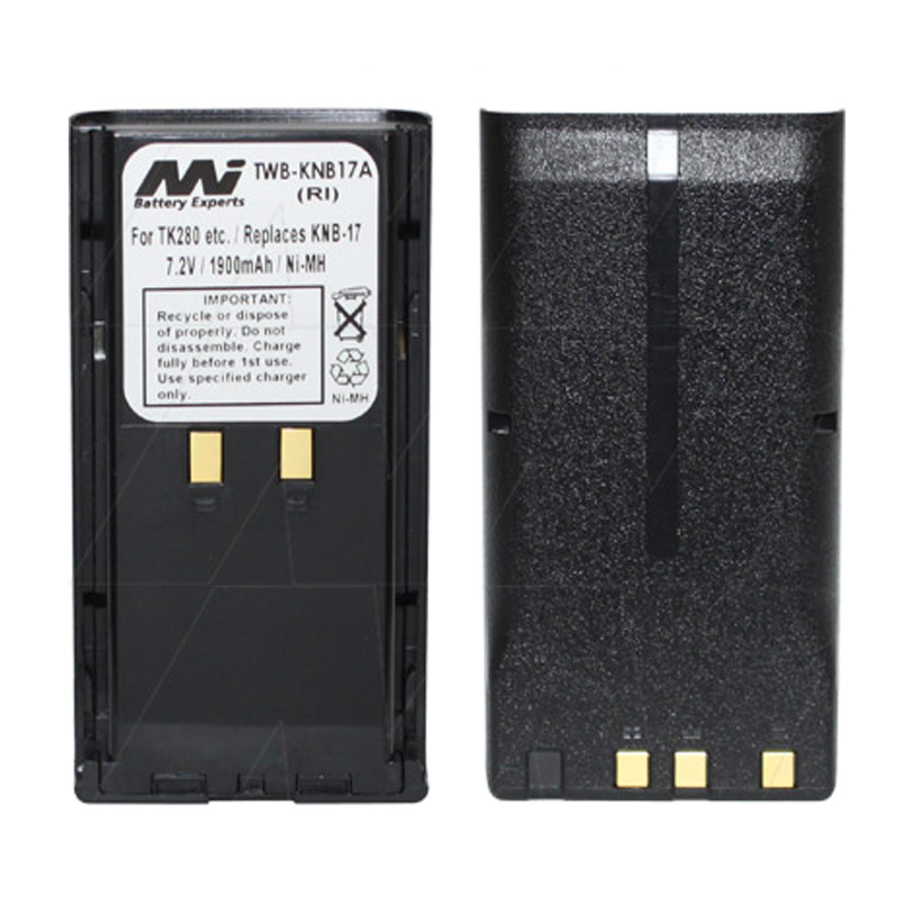 7.2V 1900mAh NiMH Two Way Radio battery suit. for Kenwood
