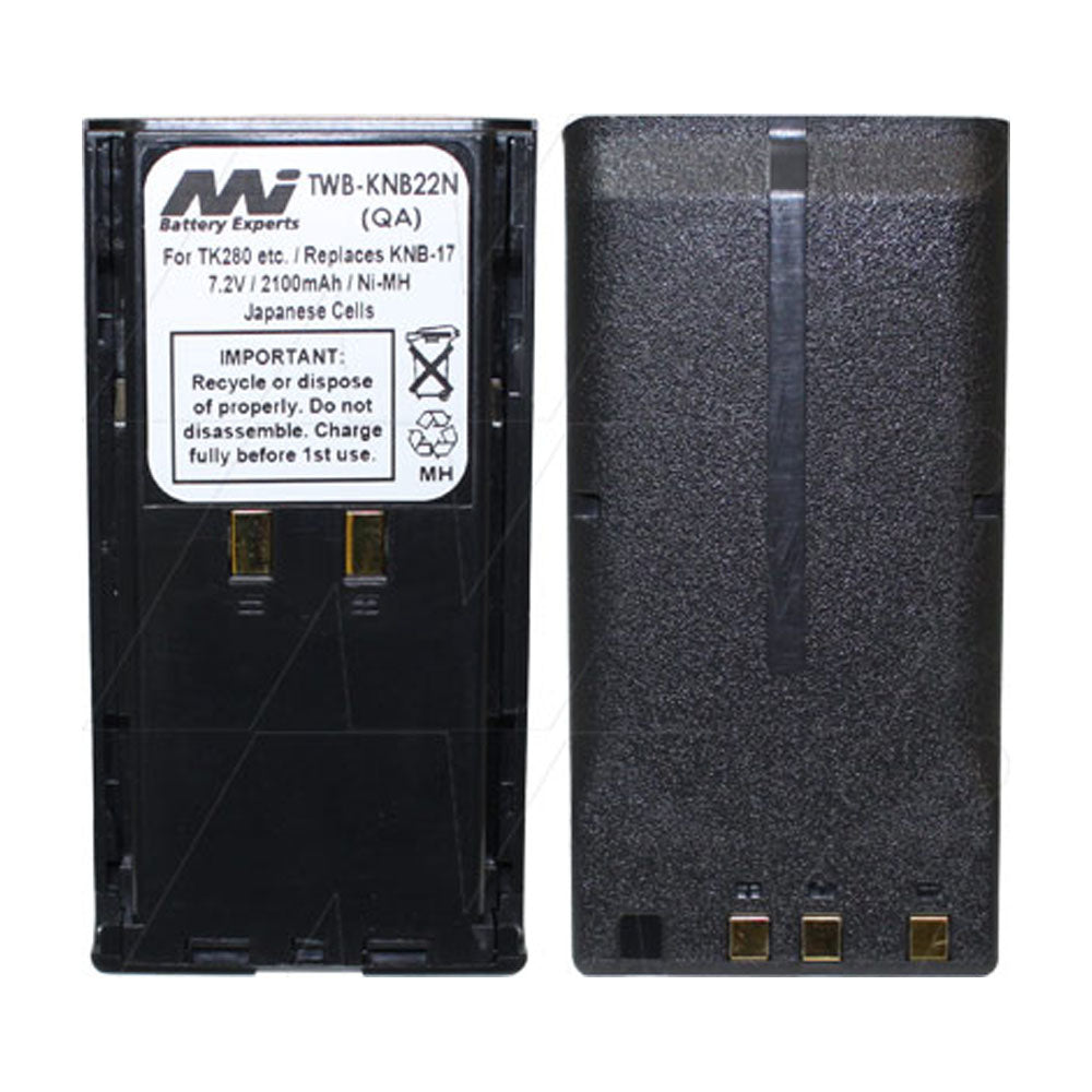 7.2V 2100mAh NiMH Two Way Radio battery suit. for Kenwood TK280