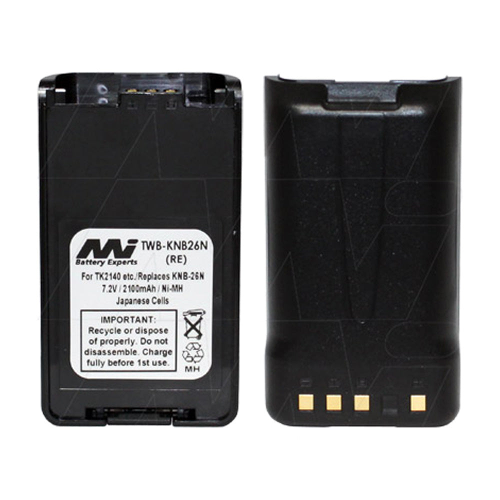 7.2V 2100mAh NiMH Two Way Radio battery suit. for Kenwood NX220-TK-2160