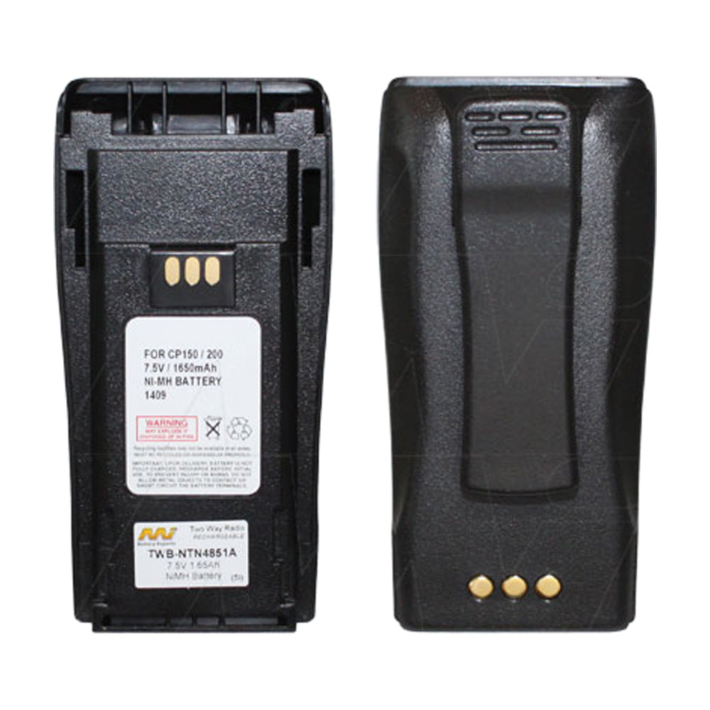 7.5V 1650mAh NiMH Two Way Radio battery suit. for Motorola