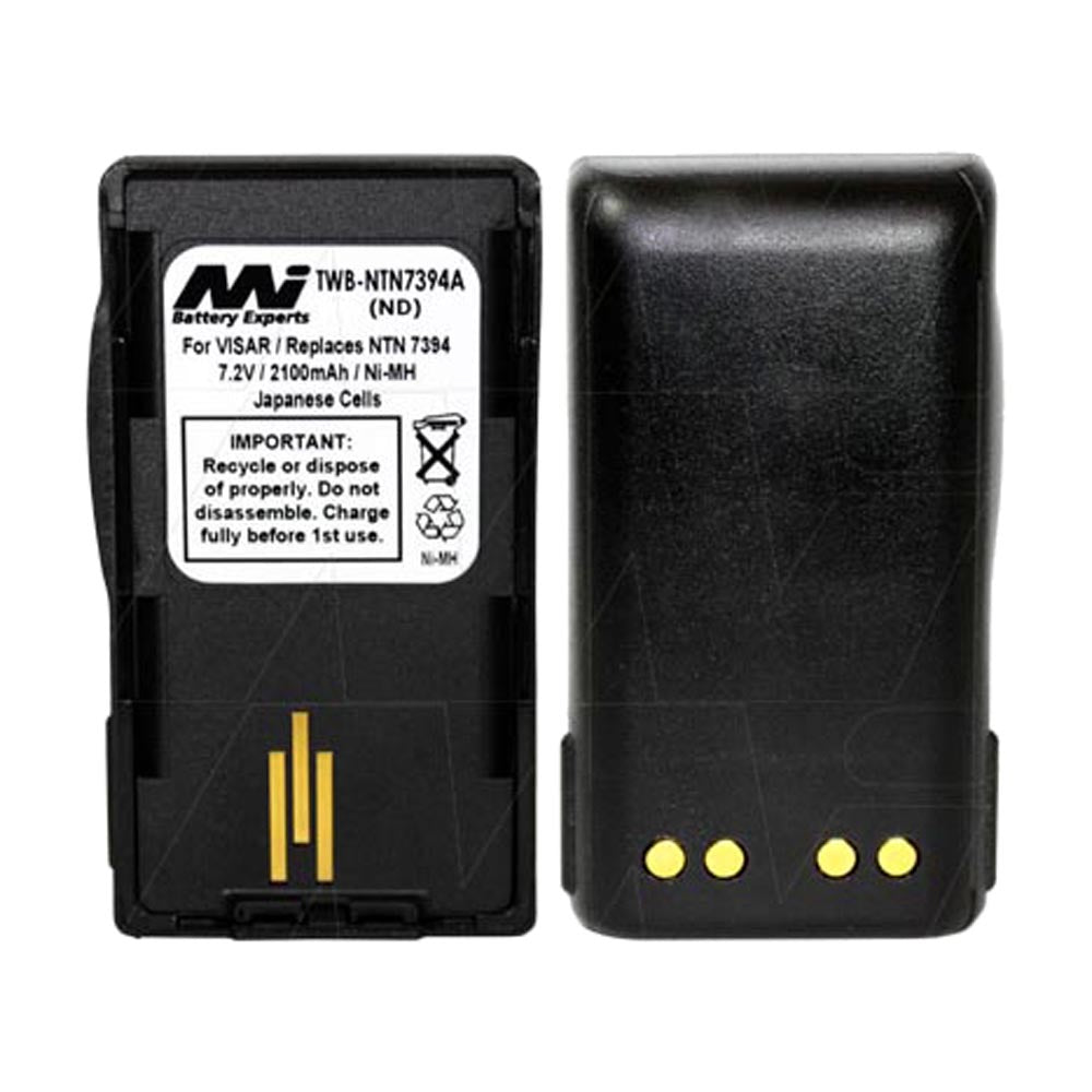 7.5V 2100mAh NiMH Two Way Radio battery suit. for Motorola