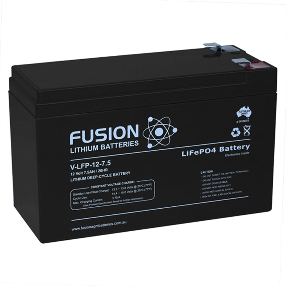 V-LFP-12-7.5 Lithium Ion Phosphate Deep-Cycle Battery