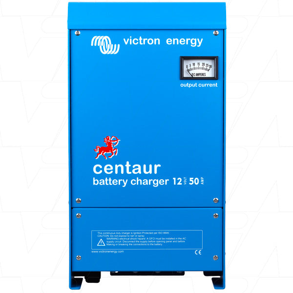 12V 50A Centaur Triple Output SLA Charger with M8 Connection