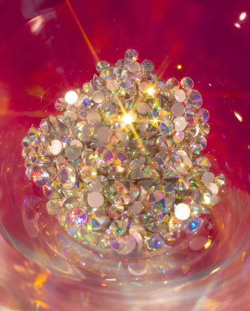 """Soulmate"" Jemme Quad - Holographic Crystal Rhinestones"