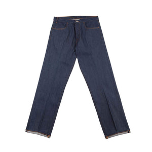 INDIGO DENIM TROUSERS
