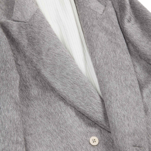 ALPACA GREY COAT