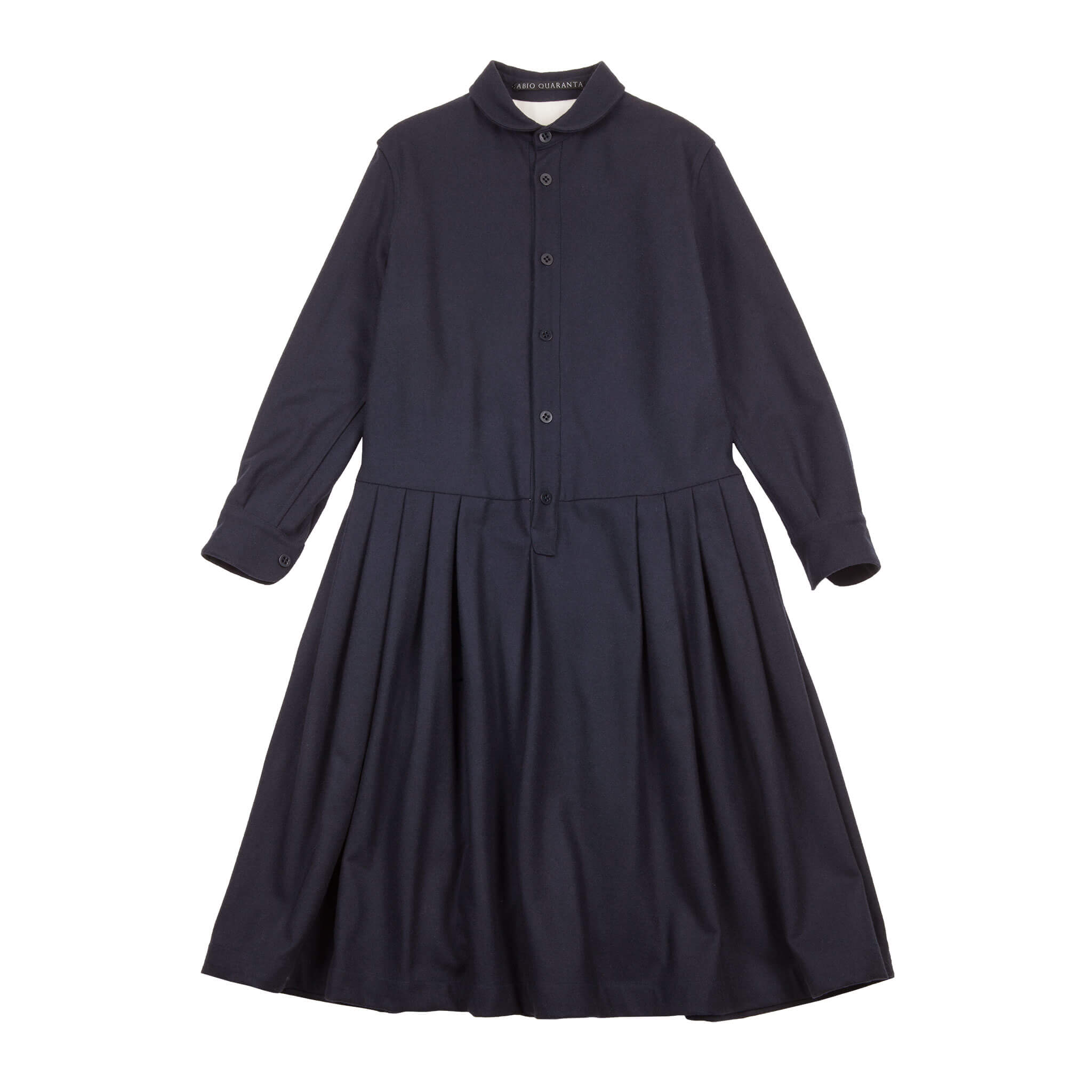 WOOL SHIRT DRESS