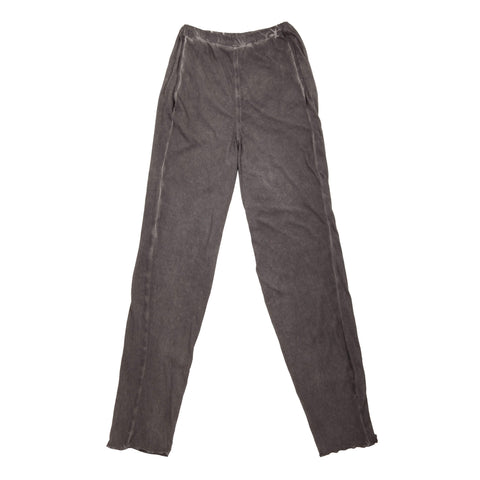 COLD DYED JERSEY TROUSERS