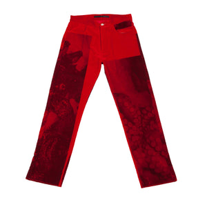 NICOLA PECORARO VELVET TROUSERS 1 of 1