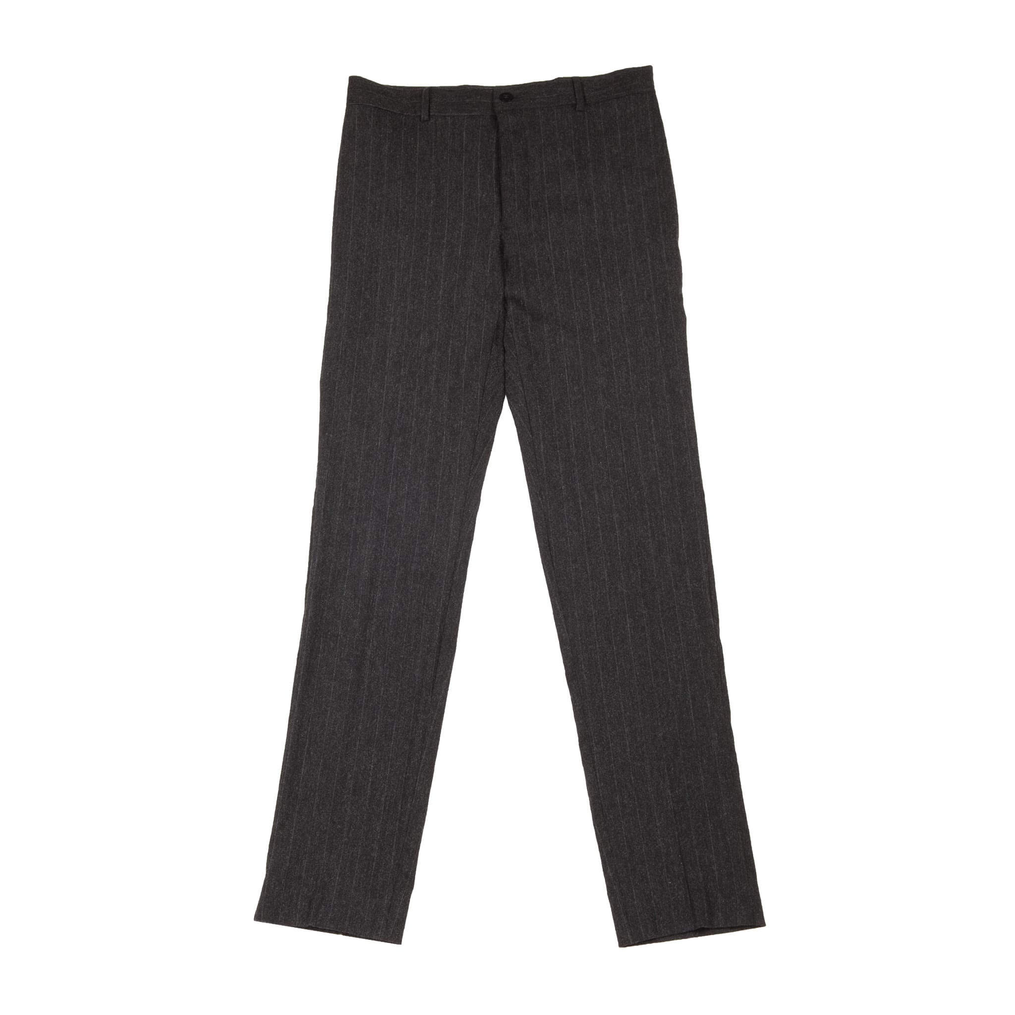 PINSTRIPE NARROW SUIT TROUSERS
