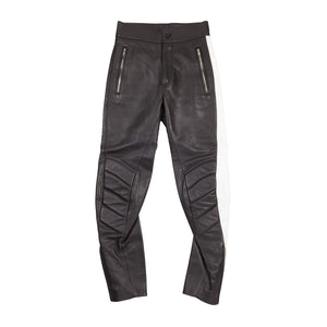 LEATHER MOTO TROUSERS 1 of 1