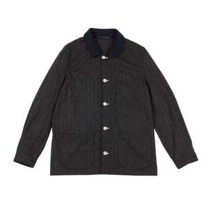 PINSTRIPE WORKER JACKET 1 of 1
