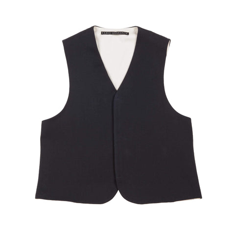 REVERSIBLE VEST WITH VELCRO