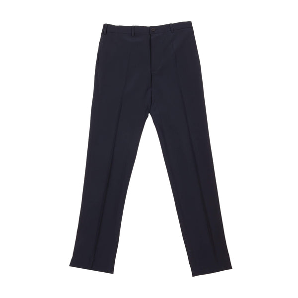 GABARDINE NARROW SUIT TROUSERS