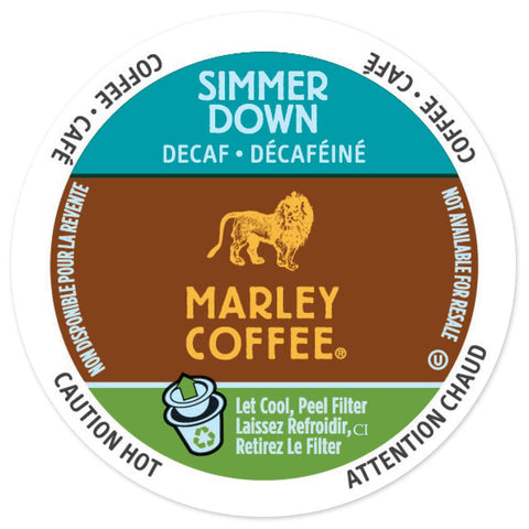 Marley Simmer Down Decaf