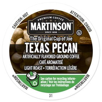 Martinson texas Pecan Coffee