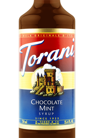 Torani Chocolate Mint Syrup