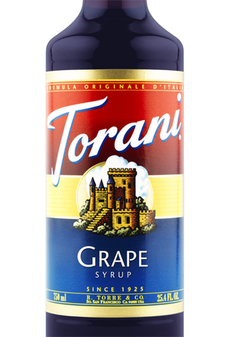Torani Butter Grape Syrup