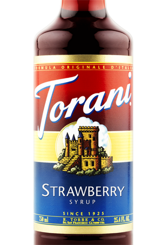 Torani Strawberry Syrup