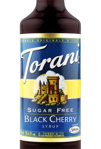 Torani Sugar Free Black Cherry Syrup