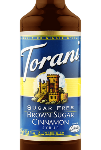 Torani Sugar Free Brown Sugar Cinnamon Syrup
