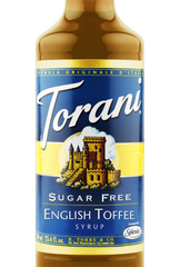 Torani Sugar Free English Toffee Syrup