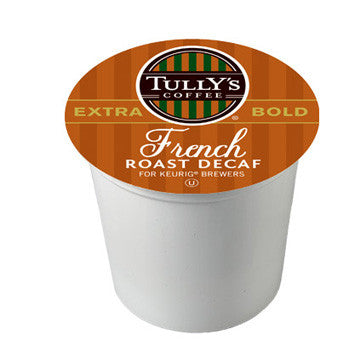 Tully's French Roast Decaf Extra Bold