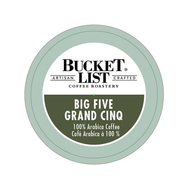 Bucket List Coffee Roastery Big Five