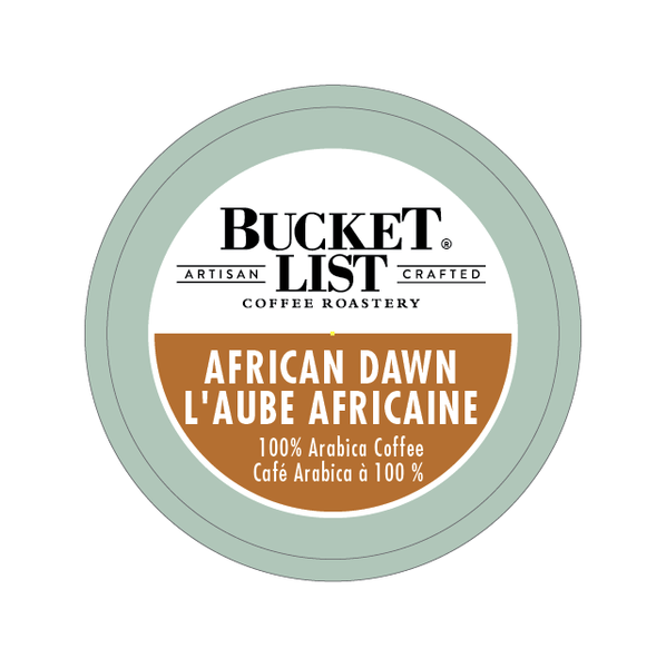 Bucket List Coffee Roastery African Dawn