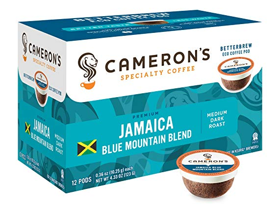 Cameron's Single Serve Jamaican Blue Mountain Blend
