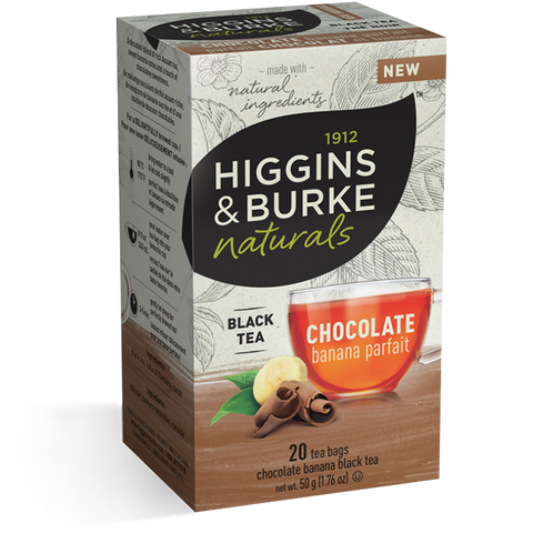 Higgins & Burke Chocolate Banana Parfait tea bags
