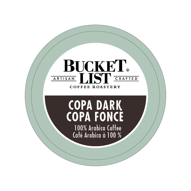 Bucket List Coffee Roastery Copa Dark