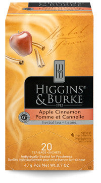 Higgins & Burke Apple Cinnamon Herbal Tea Bags