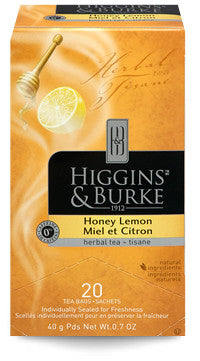 Higgins & Burke Honey Lemon Herbal Tea Bags