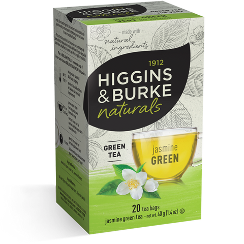 Higgins & Burke Jasmine Green Tea Bags
