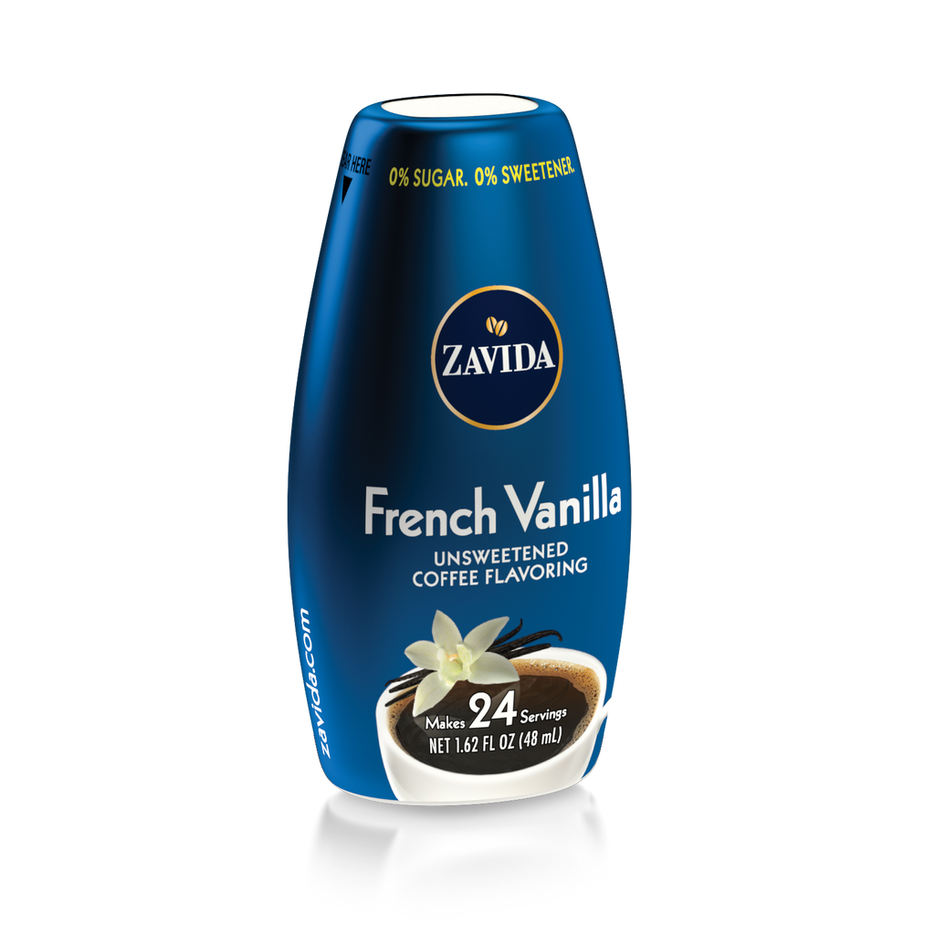 Zavida French Vanilla Unsweetened Flavor Shots