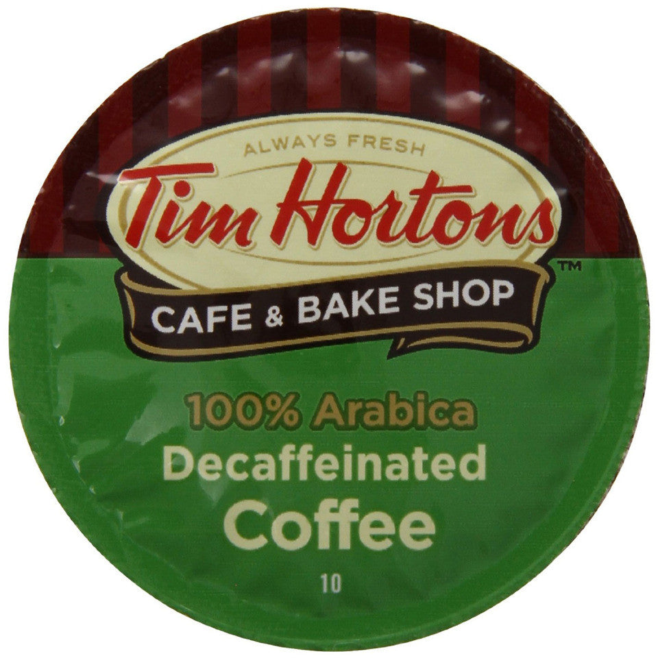 Tim Hortons Decaf Single Serve Coffee 12 Pack
