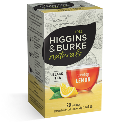 Higgins & Burke Treetop Lemon Tea Bags