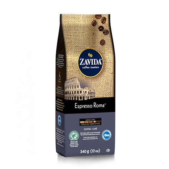 Zavida 12oz Espresso Roma Whole Beans